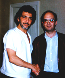 Bobby Cleall and Steve Gadd